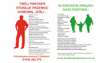 The Freedom Programme  Learn about domestic violence and abuse