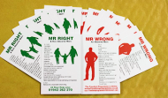 Mr Right Mr Wrong Cards
